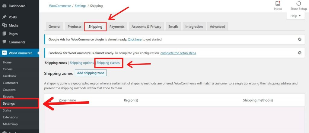 How To Set Up WooCommerce Shipping Classes