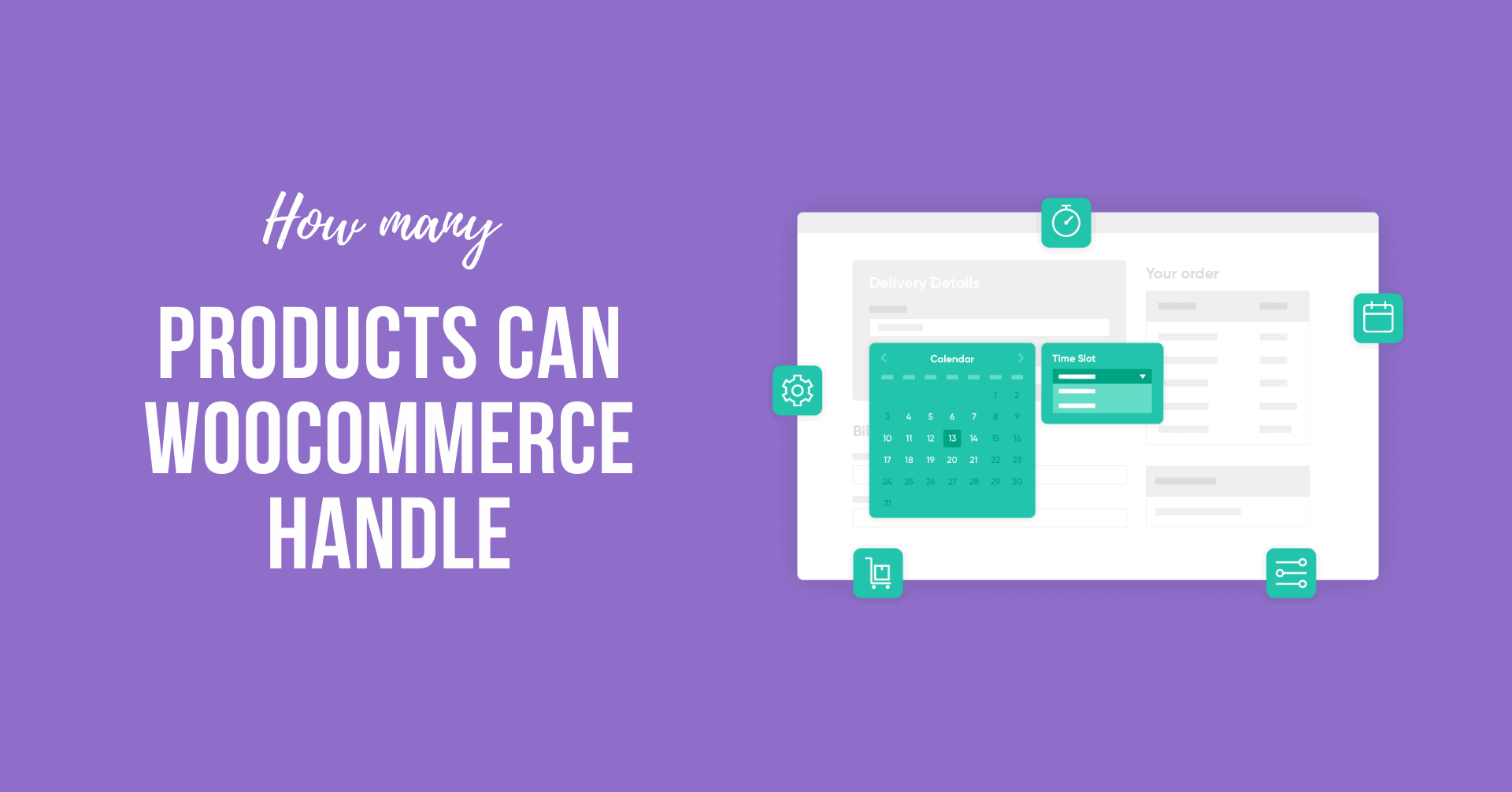 How many Products can WooCommerce Handle