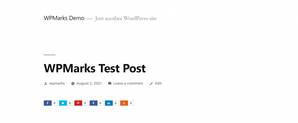 How to Add Share Buttons on WordPress