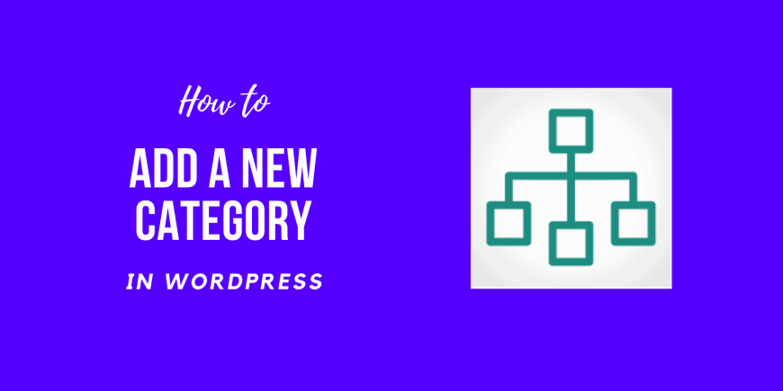 How to Add a New Category in WordPress
