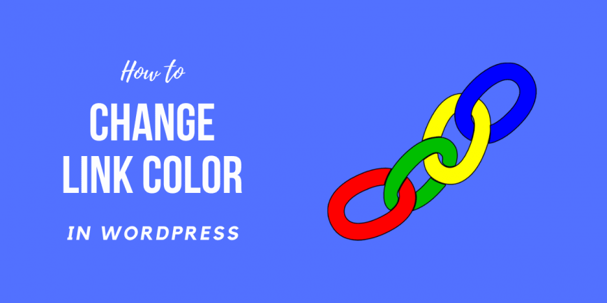 How to Change Link Color in WordPress using css