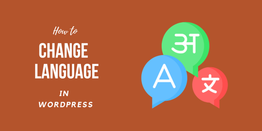 How to Change WordPress Language