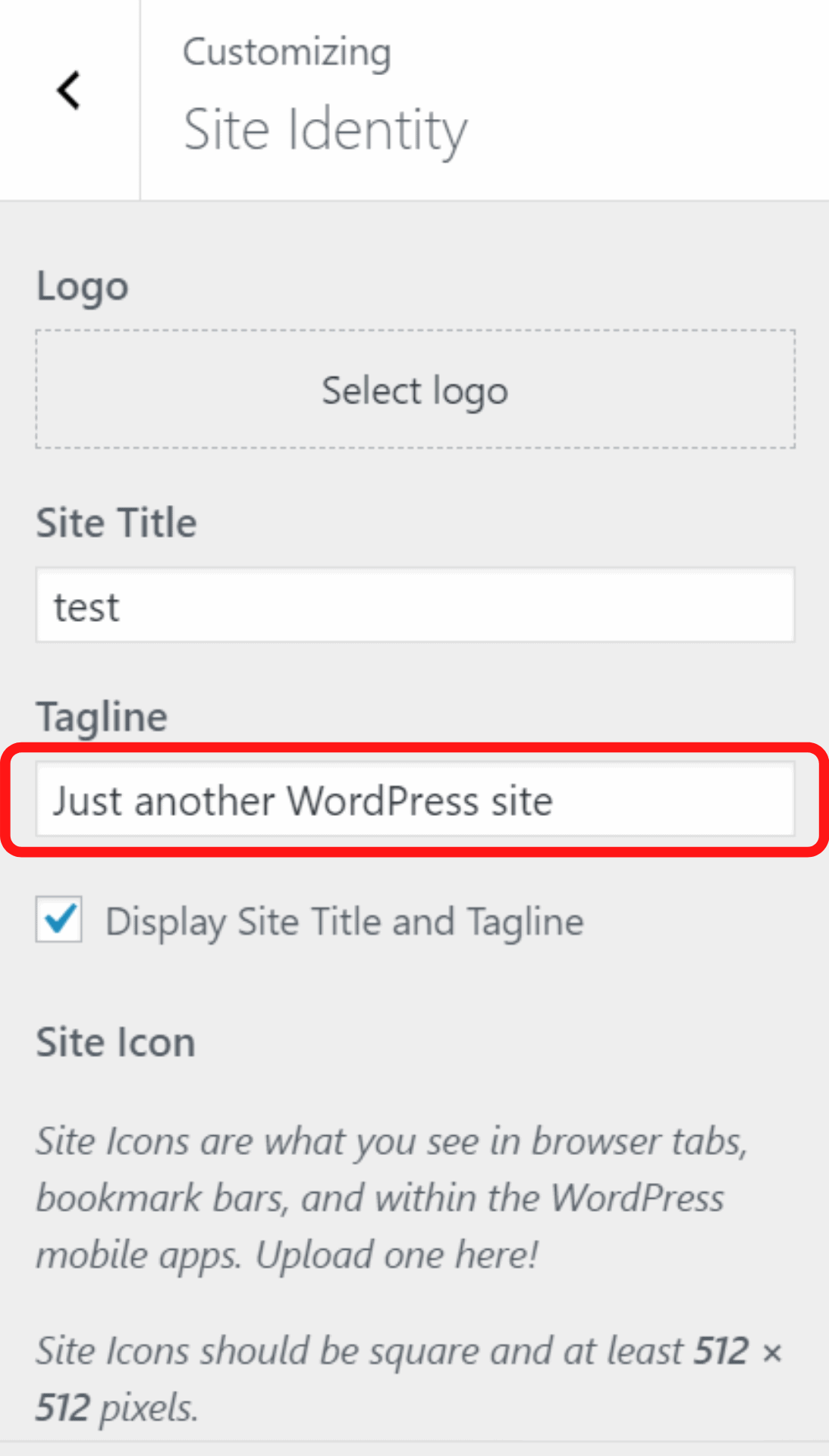 How to Change the Just Another WordPress Site text