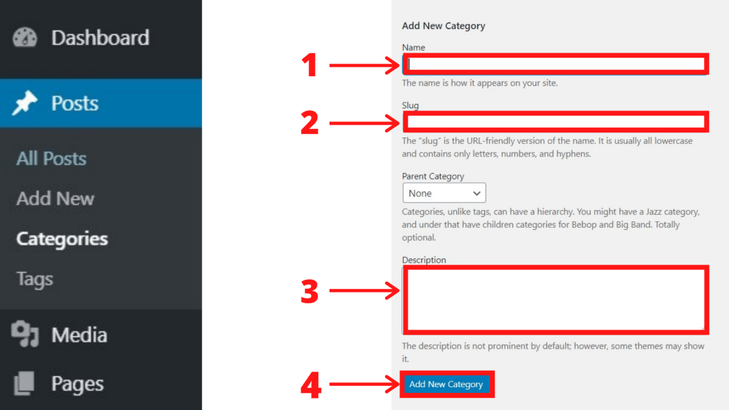 How to Delete a Category in WordPress