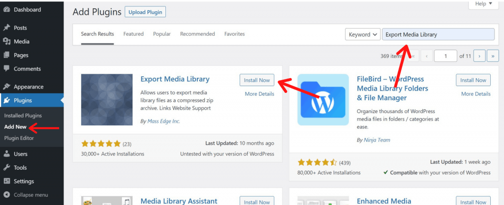 How to Download WordPress Media Library Easily