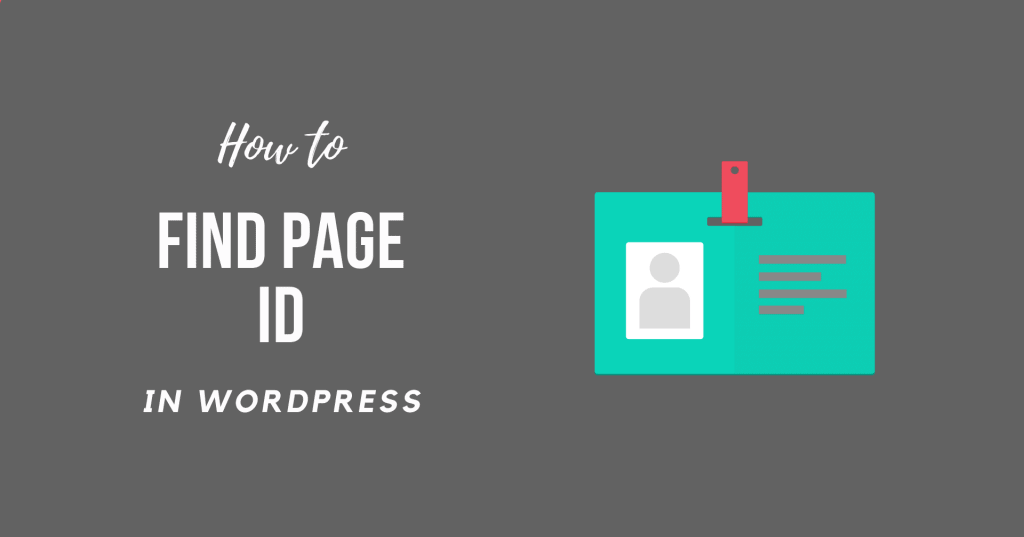 How to Find WordPress Page ID