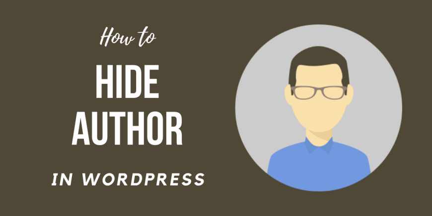 How to Hide Author in WordPress
