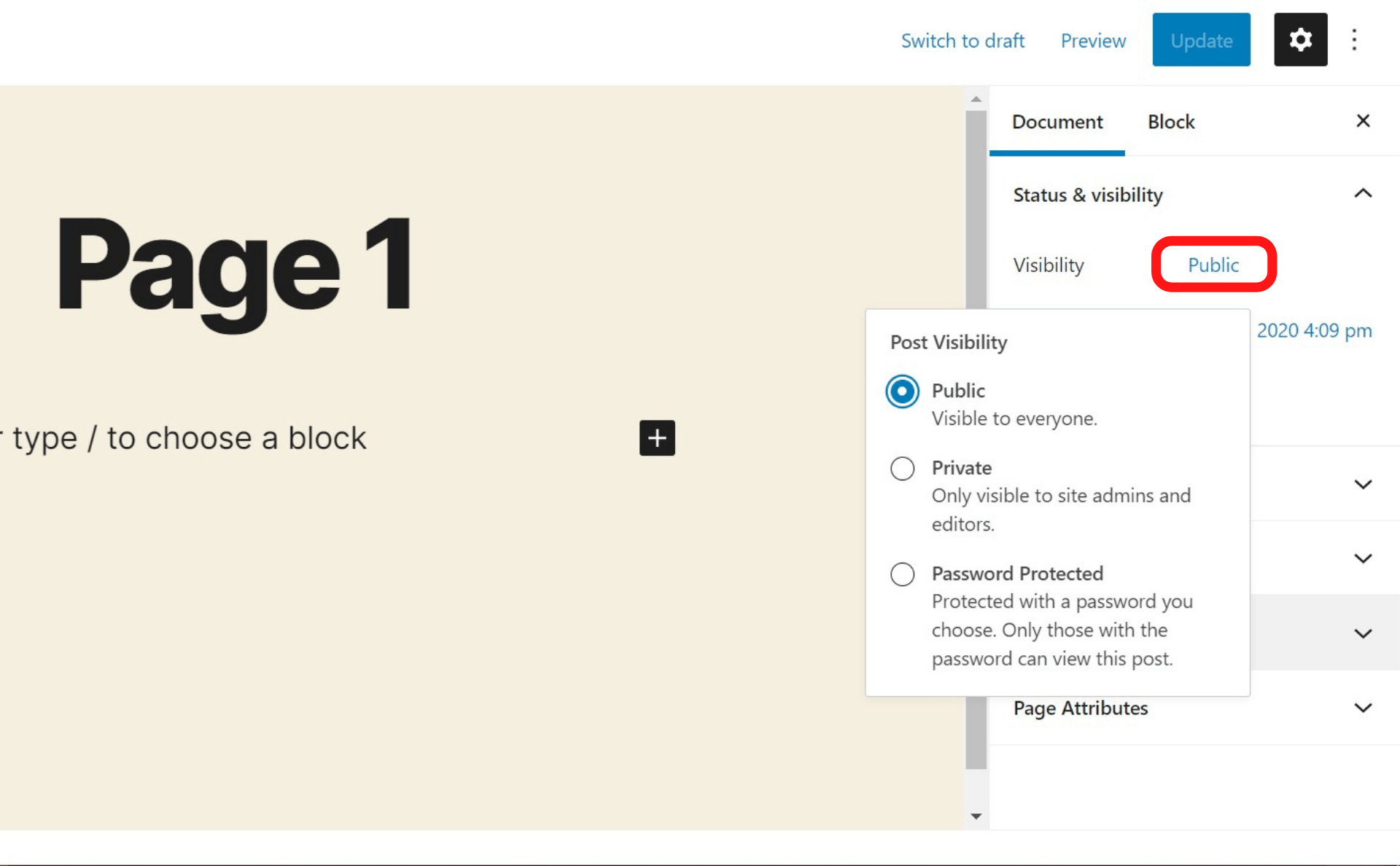 How to Hide Pages in WordPress