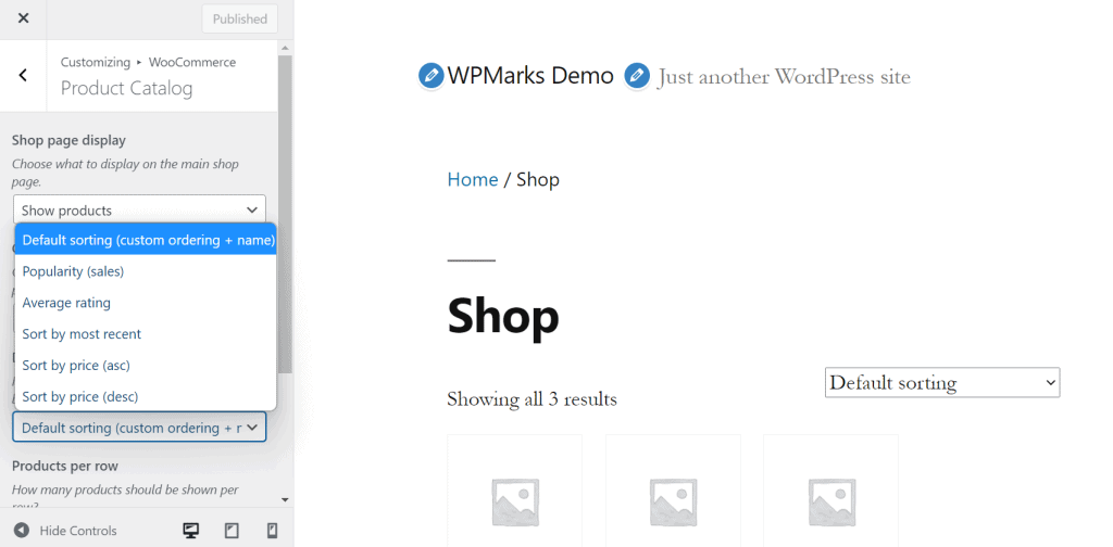 How to Sort Products in WooCommerce