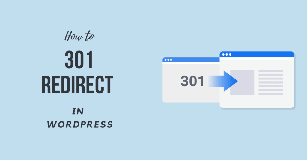 How to do a 301 redirect in WordPress (2020)