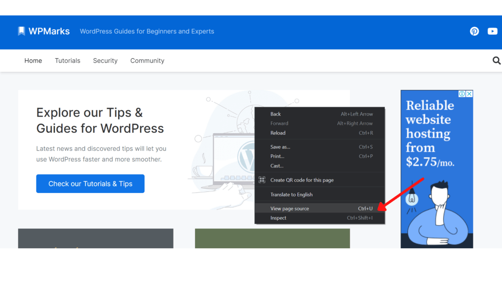 How to tell if a site is WordPress