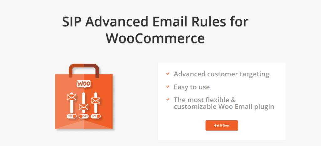 SIP Advanced Email Rules fore WooCommerce Follow Up Emails