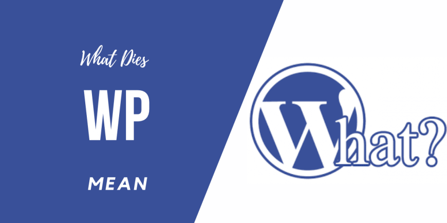 What Does WordPress Mean