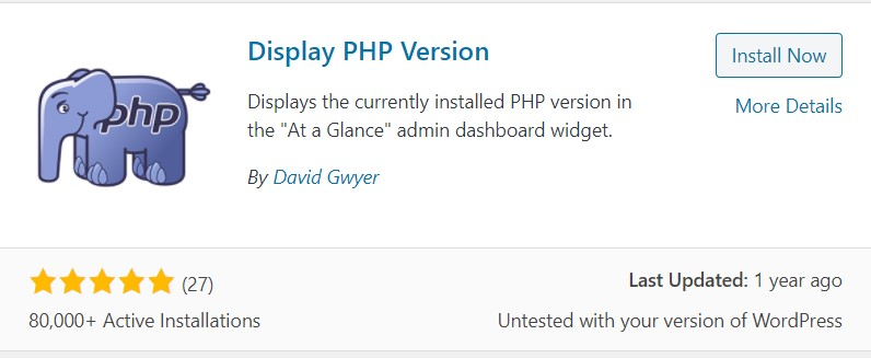 Your PHP installation appears to be missing the MySQL extension which is required by WordPress (2)