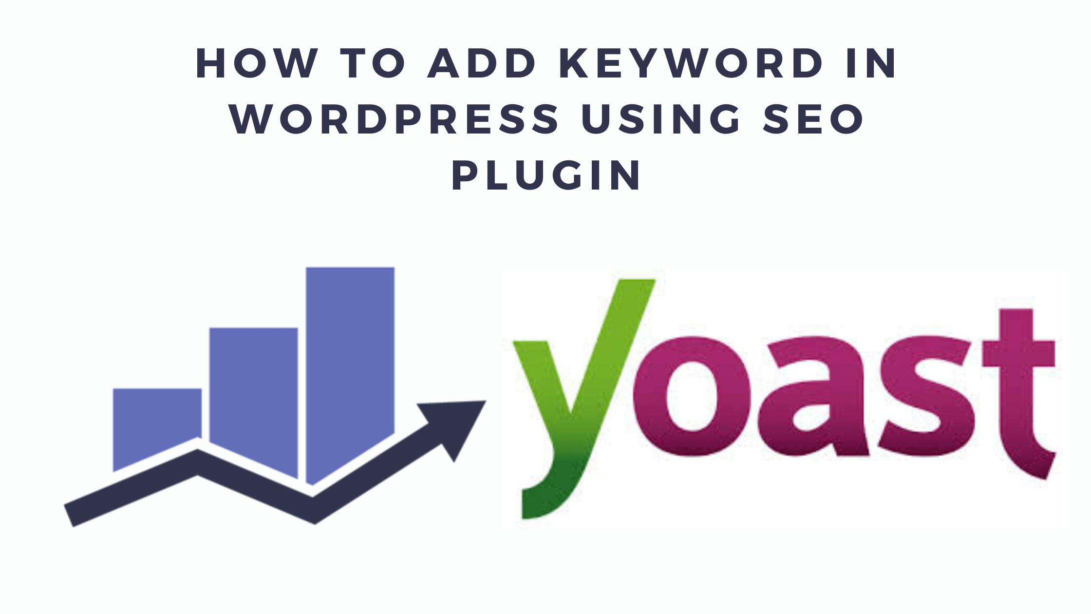 How to Add Keywords to WordPress
